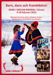 Program för Dans i skolan-biennalen 2012